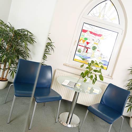 Hausarzt Salzwedel - Bark - Wartebereich unserer Praxis