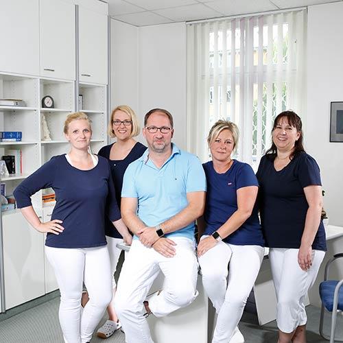 Hausarzt Salzwedel - Bark - unser Team am Empfang